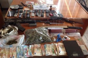 Εξαρθρώθηκε εγκληματική οργάνωση διακίνησης ναρκωτικών στην Πελοπόννησο