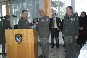Τελετή παράδοσης - παραλαβής της Διοίκησης της ΔΙΚΕ Πελοποννήσου